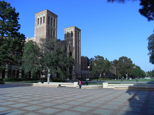 Another view of Royce Hall