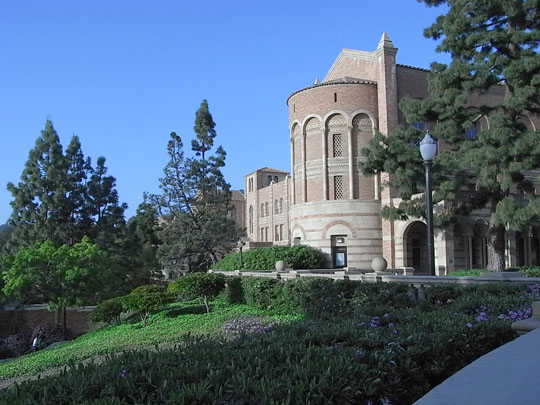 West Side of Royce Hall